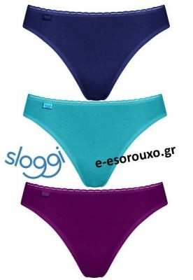 Sloggi Daily Cotton H Tai 3τεμ